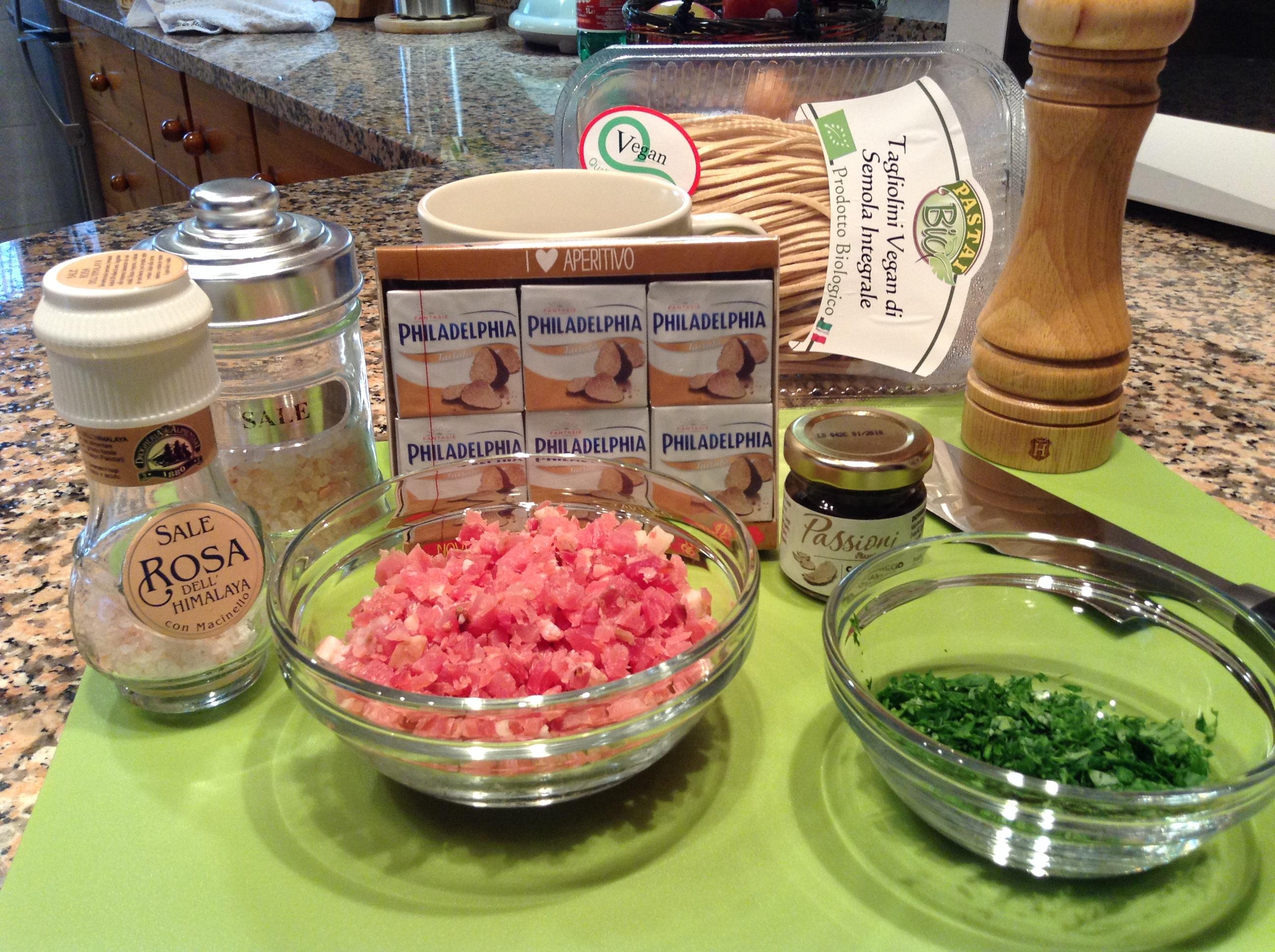Ricette di pasta con philadelphia al tartufo