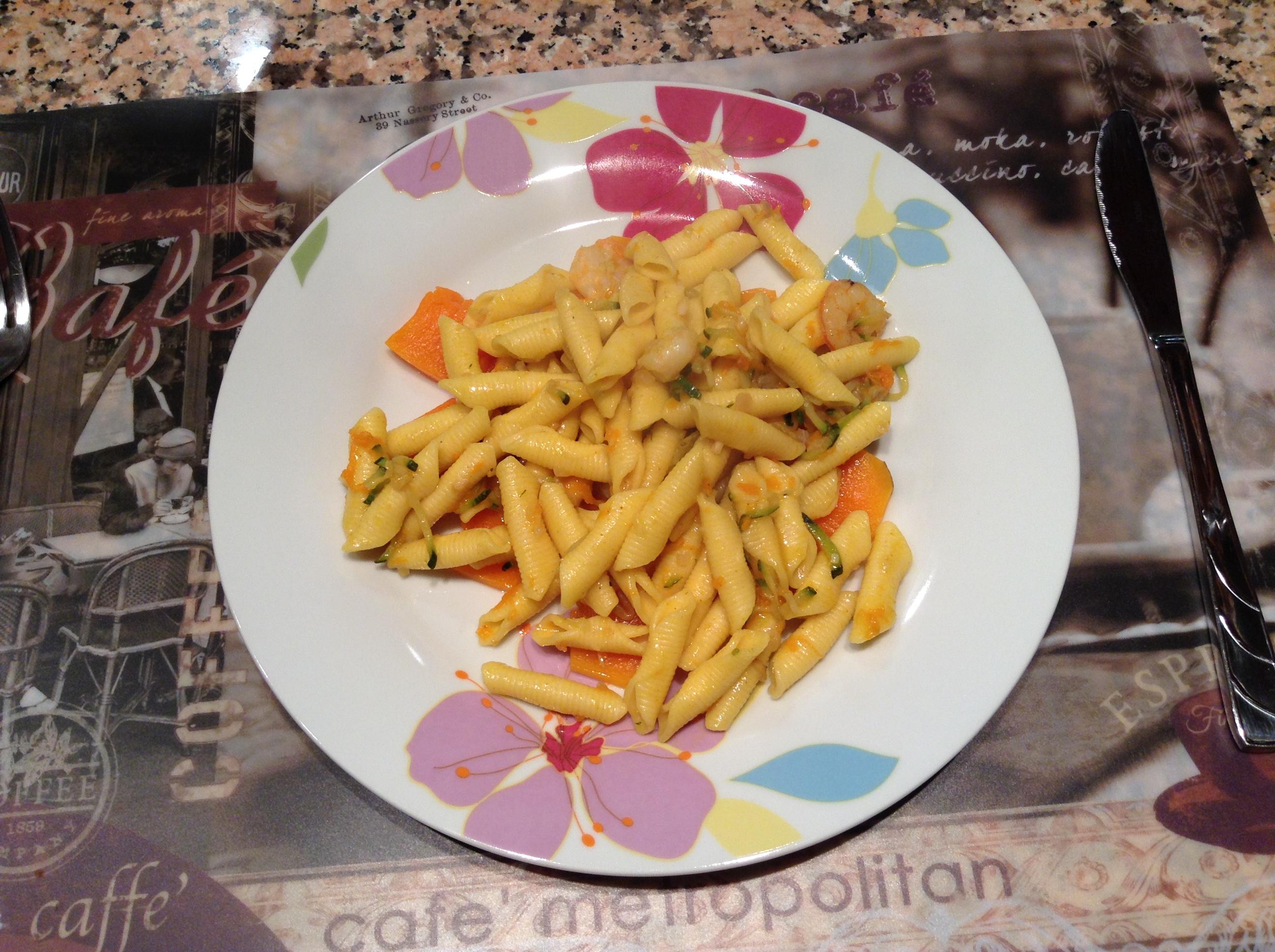 garganelli_zucca_gamberetti